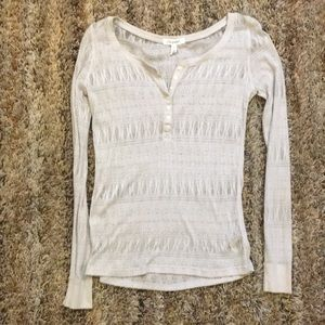 Aeropostale Long Sleeve Top Size L